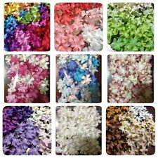 100 Artificial Mulberry Paper Blossom flowers Petal Handmade Scrap-booking 3/4""