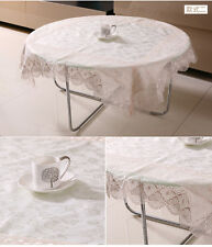 Luxury Dining Table Household appliances Floral Lace Assorted Tablecloths Cover