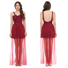 Final CHEAP! Sexy Bridesmaid Ball Prom Gown Formal Evening Party Cocktail Dress