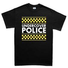 Under Cover Police Funny Sarcastic Joke Mens T shirt Tee Top T-shirt