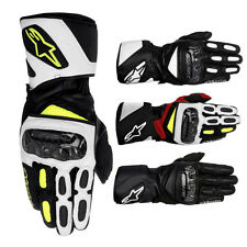 Alpinestars Racing SP-2 Leather Street Riding Sport Track Mens Motorcycle Gloves