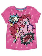 Girls T-shirt My Little Pony Rock - Pink by George 5 to 8 years