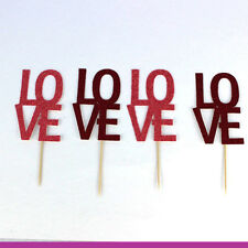 Valentines Day Cake Toppers Tableware - Love Hen Party Accessories Party Straws