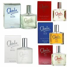 CHARLIE EDT EAU DE TOILETTE FRAICHE WHITE  RED SILVER BLUE PERFUME SPRAY 100ml