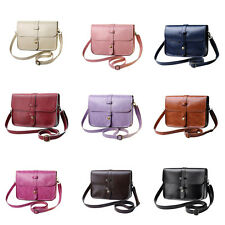 Women Shoulder Bag PU Leather Handbag Tote Purse Messenger Crossbody Bag CL