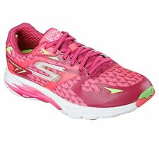 Skechers GO RUN Ride 5 Womens Running Shoe-13997-Hot Pink/Green - Pick Size -NIB