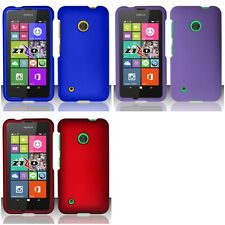 For Nokia Lumia 530 Matte Snap-On Hard Phone Case Cover