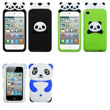 For Apple iPod Touch 4th Gen Silicone Design Skin Soft Phone Case Cover