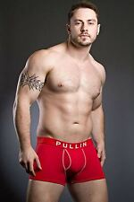 Pull In Shorty Cotton Neo Red Boxer Brief
