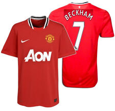 NIKE DAVID BECKHAM MANCHESTER UNITED HOME JERSEY 2011/12