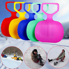 Outdoor Kids/Adult Winter Plastic Grass Skiing Sled Board Snow Sledge Snowboard