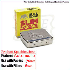 Bull Brand Automatic Slimline Cigarette Rolling Machine Roll Box - Buy 1 & 2