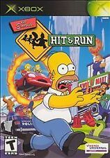 Simpsons: Hit & Run (Microsoft Xbox, 2003) - platinum Version