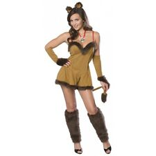 Cowardly Lioness Wizard of Oz Adult Sexy Lion Halloween Costume Std/Plus Sizes