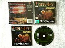 30893 Spec Ops Covert Assault - Sony Playstation 1 Game (2001) SLES 03515