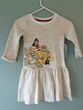 NWT DISNEY STORE Princess Belle DRESS 5/6,7/8 Girl Beauty and the Beast Girls