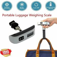 50kg/10g LCD Digital Fish Hanging Luggage Weight Electronic Hook Scale Lot FY