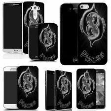 pattern case cover for many Mobile phones - black pisces
