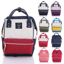 Japan Anello Fashion Backpack Rucksack Unisex Canvas Quality School Bag Campus