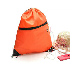 Shoe Clothes School Gym Storage Duffle Pack Pouch Backpack Drawstring Bag