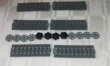 NEW GENUINE LEGO TECHNIC CATERPILLAR TRACK'S x 60 + DRIVE AND GUIDE WHEEL'S
