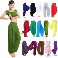 Oversize Women Loose Wide Harem Trousers Long Pants Baggy Yoga Legging Plus Size