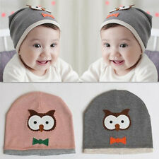 Hot Baby Boy Cute Kids Owl Girl New Cotton knit Beanie Hat Cap 1pcs Soft