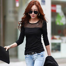 Summer T Style Lace Cotton Women Sleeve Fashion T Shirt Tops Korean