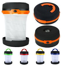 Bright LED Lantern Light with Collapsible Flashlight Emergency Camp Outdoor 2in1