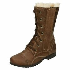 Ladies Legendary Raw By Caterpillar Fur Lined Boots Jane Fur