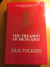 J.R.R. Tolkien - The Treason of Isengard - 1st UK Edition/1st Imp 1989 Near Fine