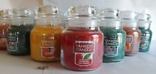 YANKEE CANDLE  FALL & WINTER FRAGRANCES  3.7 OZ.  YOU CHOOSE!