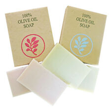 THURLBY LAVENDER & ROSE GERANIUM 100% OLIVE OIL SOAP.