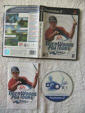 39466 Tiger Woods PGA Tour 2001 - Sony Playstation 2 Game (2001) SLES 50118