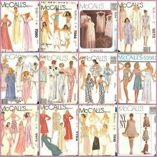OOP McCalls Sewing Pattern Misses Sleepwear Lingerie Size Med 12 to 16 YOU PICK