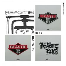 Beastie Boys Patch Sew Iron On Embroidered Hip Hop Group Free Shipping Music New