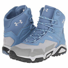 new-under-armour-ua-tabor-ridge-mid-womens-hiking-boots-trail-shoes-blue
