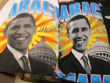 Barack Obama T Shirt - Barack Obama Yes We Can Stand For Change XL 2XL 4XL, New