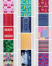 Large Printed  Cotton Beach Towel Gym Holiday Travel Camping Towels Sports