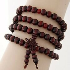Variety Style Rosary Ancient Wooden Style Hand Strings Bracelet Bangle Beaded