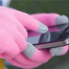 Size Magic Warm Winter Touch Screen Gloves Knit Texting Capacitive Smartphone