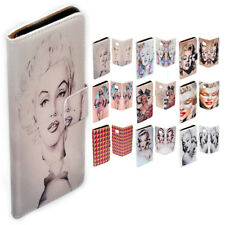For HTC One X9 M9 M8 10 Desire 820 626 - Marilyn Monroe Print Wallet Phone Case