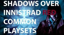 Shadows over Innistrad RED Common Playsets MTG Magic The Gathering