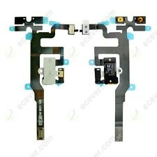 Headphone Audio Jack Volume Switch Mute Flex Ribbon Cable For iPhone 4S