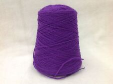 Wool Yarn on Cone - Alpine Violet - Brown Sheep Nature Spun - Sport or Fingering