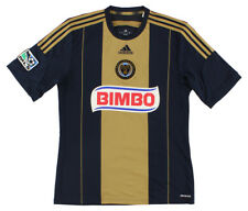 Adidas Mens Philadelphia Union Soccer Jersey Black