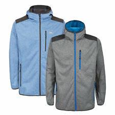 Trespass Mathew Mens Softshell Jacket Hooded Breathable Windproof Outdoor Coat