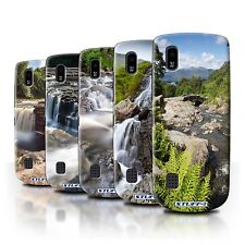STUFF4 Back Case/Cover/Skin for Nokia Asha 300/Waterfalls