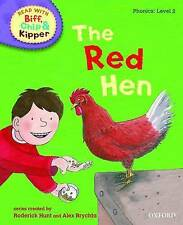 Oxford Reading Tree - Phonics Book: LEVEL 2: THE RED HEN - NEW Biff Chip
