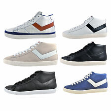 Pony Vintage Classic Hi Top Trainers -  NOW ONLY £14.99 Free P&P